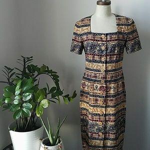 Coming soon!!! Vintage Ethnic Print Dress